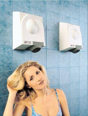 Un vortice di soluzioni per l 39 asciugatura aziende e for Asciugacapelli a parete per piscine