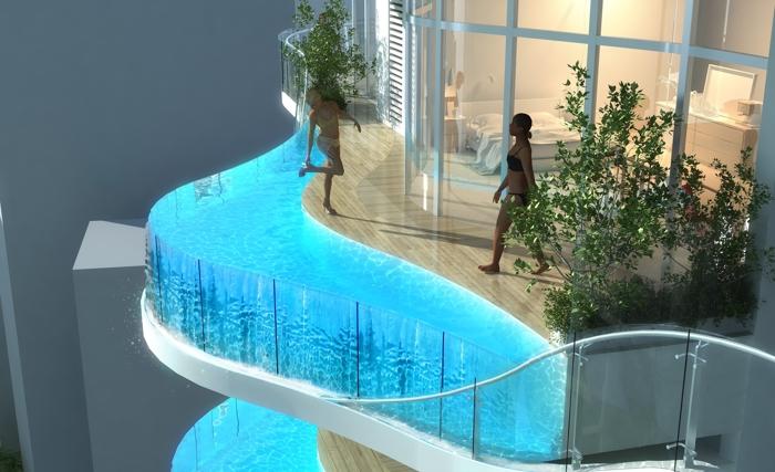 Piscine in terrazza | Progettare piscine | idee, suggerimenti e ...