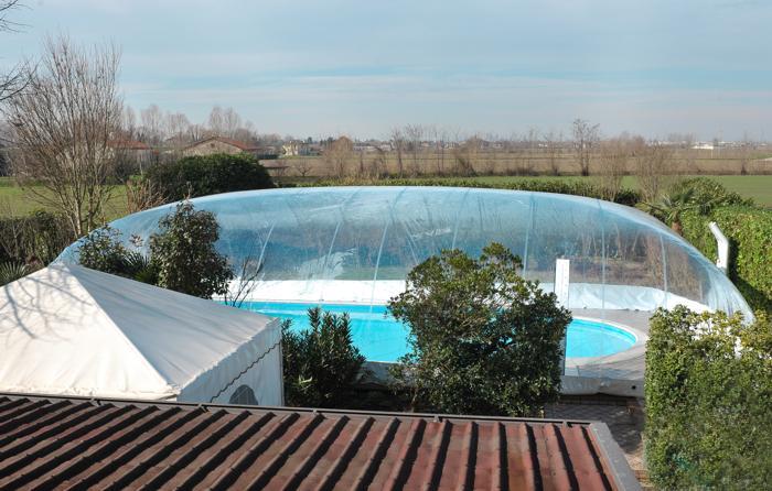 Favaretti: copertura per piscina gonfiabile  Aziende e prodotti Piscina  nuovi prodotti ...