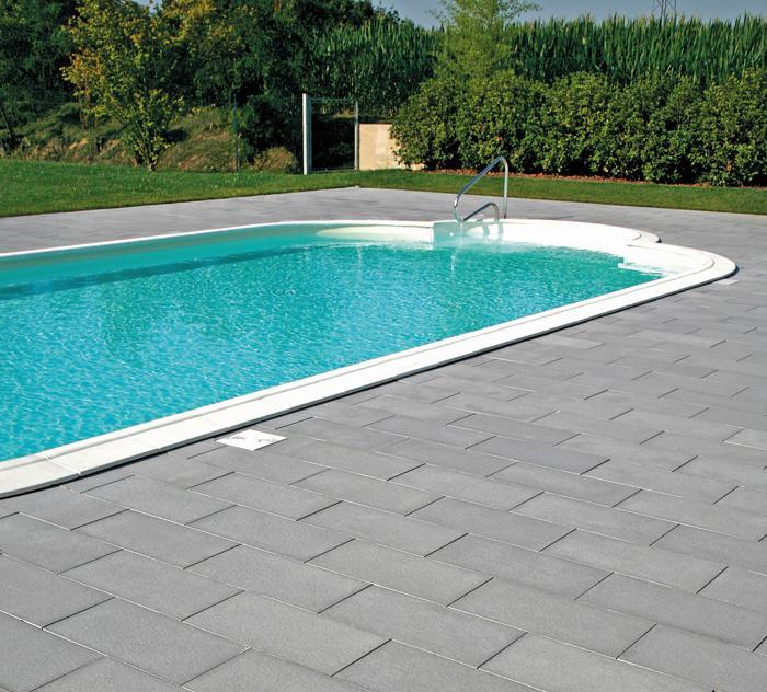 Pavimentazioni in pietra per piscine  Costruzione piscine tecnologie, sistemi, soluzioni ...