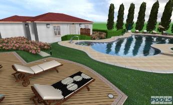 Progettare Il Giardino Software Gratis : Pool s software professionale per la progettazione di piscine