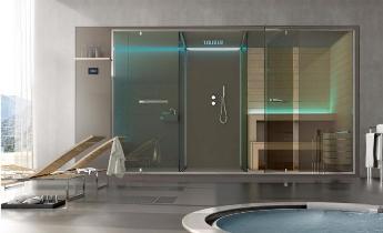 Cabina Multifunzione Sauna Bagno Turco.Sauna Vita Cabina Multifunzione Per Centri Benessere E Spa