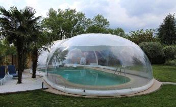 Favaretti copertura per piscina gonfiabile coperture for Teli per coprire piscine fuori terra