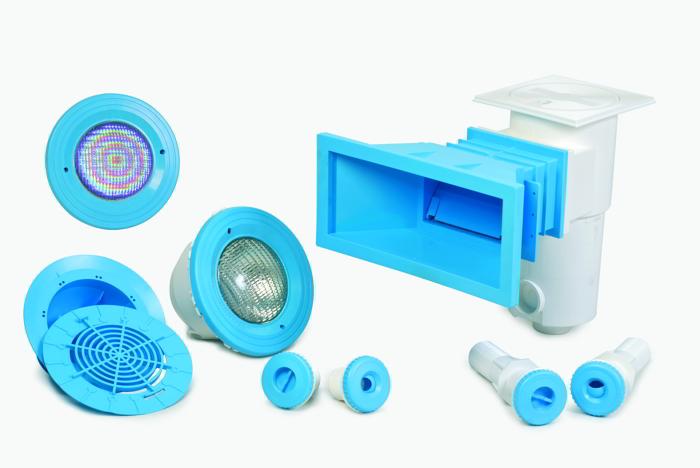 Il colore negli accessori per vasche piscina sport for Accessori per piscine