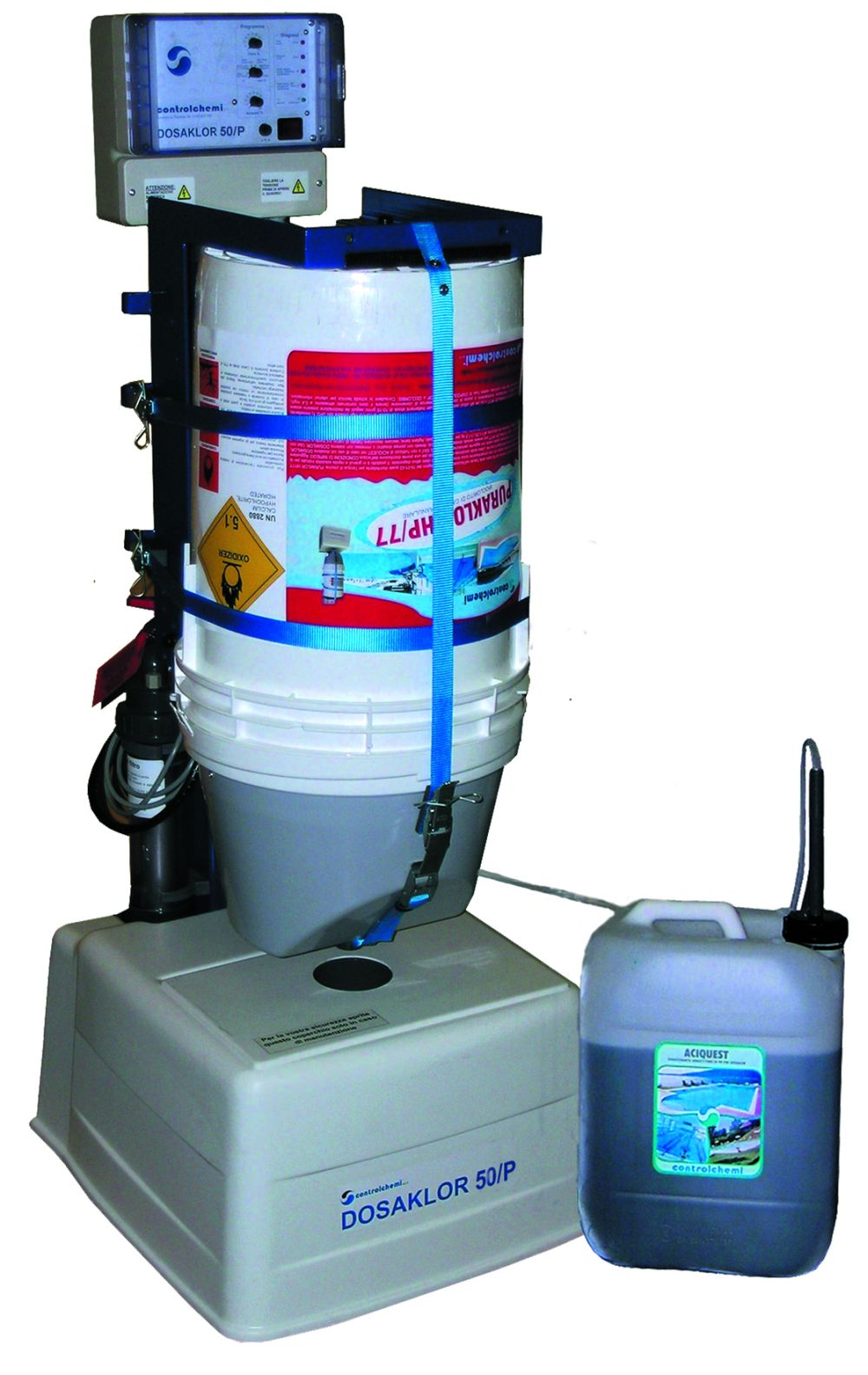 Sistema di clorazione piscina puraklor hp 77 sport for Clorazione piscine