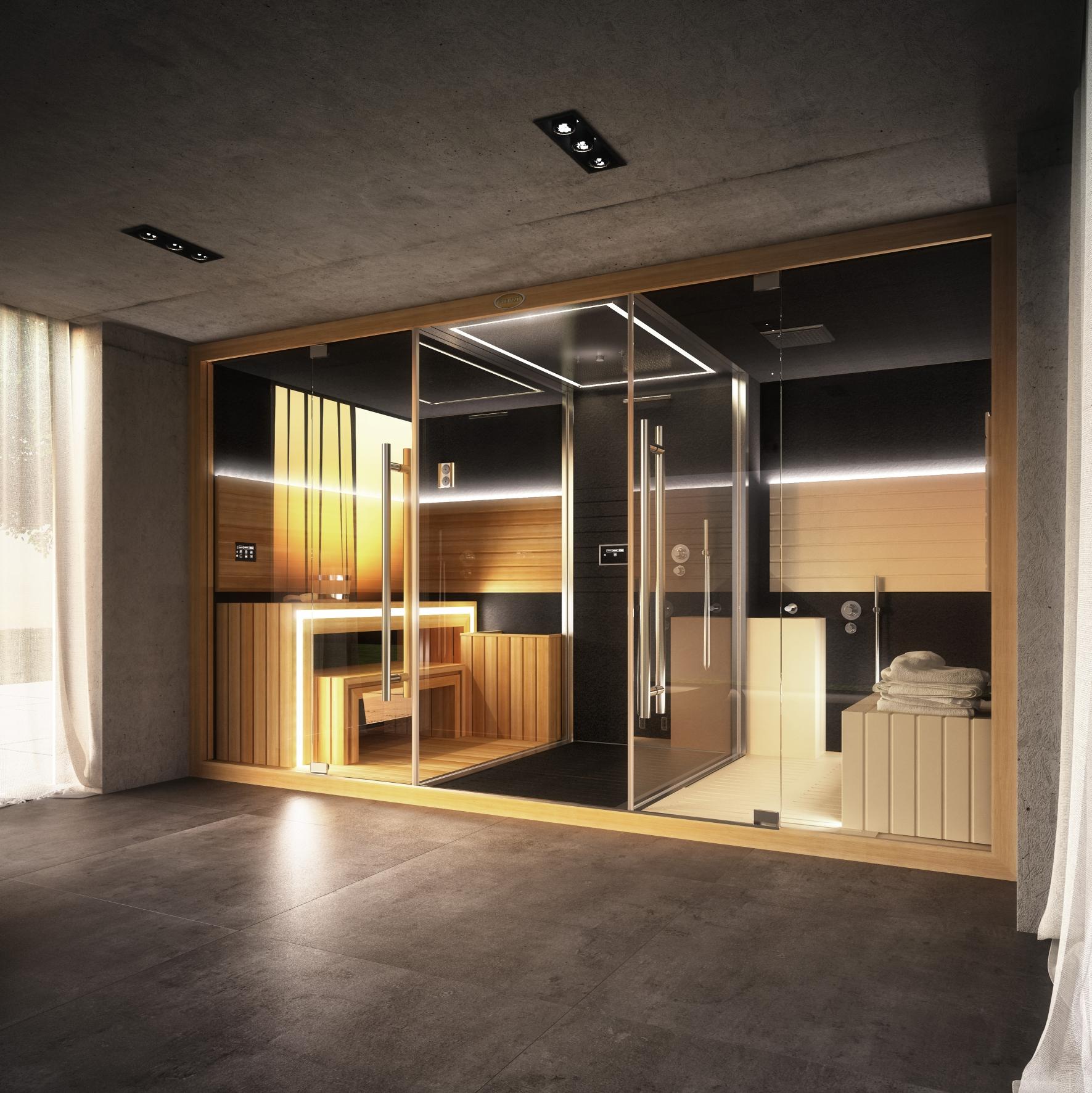 Cabina Sauna Multifunzione Sasha Sport Industry Directory - Cabina-sauna